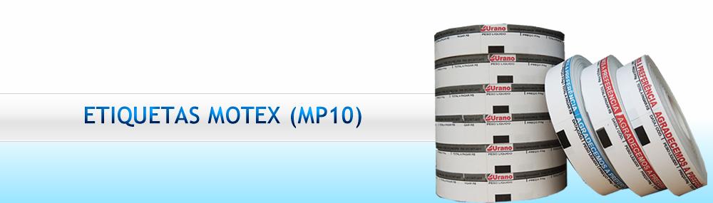 Banner - Etiquetas Motex