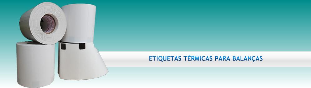 Banner - Etiquetas Térmicas Brancas